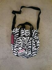 Computer Bag Laptop Carrying Case Zebra Print Eastport Backpack Shoulder Bag