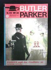 Butler Parker Nr.: 218