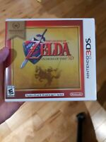Nintendo Selects: The Legend of Zelda Ocarina of Time 3D (3DS, 2011) Brand New