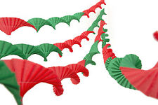 4 Crepe Christmas party ceiling decorations streamers retro garlands 7 VARIATION