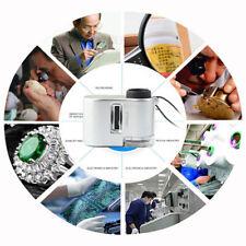 Mini 60X Pocket Microscope Jewelry Magnifier Loupe Glass LED UV Light Hot!