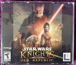 Star Wars: Knights of the Old Republic (PC, 2003) — Computer Game —  4 CDs