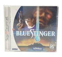 Blue Stinger Sega Dreamcast, Activision Complete w/ Manual Tested!!
