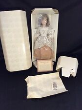 Franklin Mint Porcelain Doll - Maids of 13 Colonies - Pamela Of Georgia