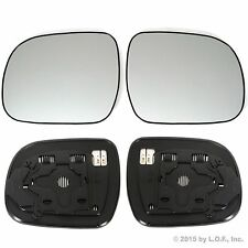 RX330 RX350 RX400H Side Mirror Replacement Glass Both Driver & Passenger Heat