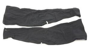 Verge Lycra Leg Warmers Large Black