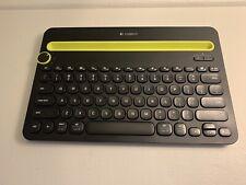 Logitech K480 Universal Bluetooth Keyboard Built-In Device Stand Multi Device