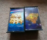 NOW DANCE THAT'S WHAT I CALL MUSIC 1994 and 1995 DOUBLE PACK AUDIO CASSETTES