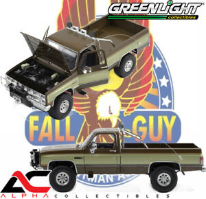 "GREENLIGHT 13560 1:18 1982 GMC K-2500 SIERRA ""FALL GUY"" STUNTMAN ASSOCIATION"