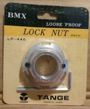 NOS BMX TANGE LP 440 HEADSET LOCK NUT SILVER 1 INCH EARLY 80's OLD SCHOOL