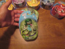 Disney Pixar Inside Out DISGUST DEGOUT Light Up Figure w/ memory sphere TOMY NEW