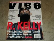 Vibe Magazine R KELLY COVER Aaliyah Scandal December 1994 January 1995