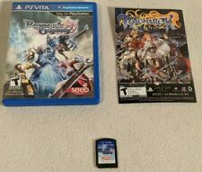 Ragnarok Odyssey (Sony PlayStation PS Vita, 2012) CIB Complete Free Shipping EUC