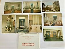 More details for postcards of st. matthews church millbrook jersey 8 postcard collection