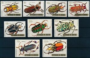 [P16014] Burundi 1970 : Insects - Good Set Very Fine MNH Airmail Stamps - $40