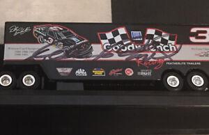 Autographed Dale Earnhardt Racing Champions 1993 Transporter JSA Certified