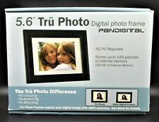 "PanDigital Digital Photo Frame 5.6"" Tru Photo 4:3 w/ Remote 128MB holds 149 PICS"