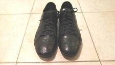 Authentic Miu Miu Men's Oxford Black Leather Shoes Sz 7.5 Italy US 8
