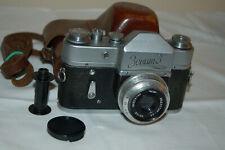 Zenit-3 Vintage Soviet SLR Camera, Industar Lens. 39 mm Mount. 62205381. UK Sale