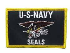U.S. Military Usn Navy Seals Flag Wholesale lot of 6 Iron On Patch