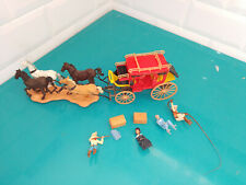 Britains wild far west cowboy 7615 soldat figurine Concord Overland Stagecoach