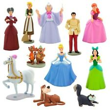 Cinderella Fairy God Mother Prince Deluxe Play Set Disney Toys Toy Cake Toppers