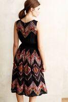 Tanvi Kedia Anthro Sleeveless Tribal Print Dress size 0