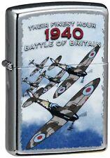 Zippo Genuine Refillable Cigarette Lighter, 1940 Battle of Britain #4 New In Box