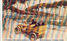 PUTEAUX 1 voiture tonneau 8 chevaux monocylindre de Don-Bouton