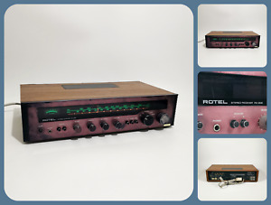 ROTEL RX-202   Vintage Amplifier AM FM Stereo Receiver   Phono & Tape In  