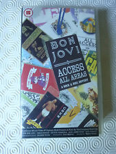 Bon Jovi - (Vhs - Access all areas - Polygram video 1990)