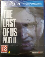 The Last of Us Part II PS4 REGION 2 Brand New SEALED
