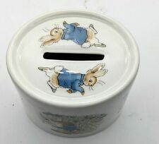 More details for wedgwood of etruria & barlaston pottery peter rabbit money box