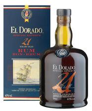 1 b. Rum EL DORADO 21 y. SPECIAL RESERVE finest Demerara ron Guyana rhum