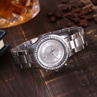 Elegant Women Casual Quartz Stainless Steel Band Watch Analog Dress Wrist Watch