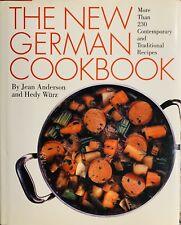 The New German Cookbook, Jean Anderson, Hedy Wirtz, Harper Collins, 1st Ed, 2003