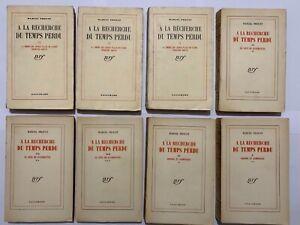 À la recherche du temps perdu Marcel Proust Gallimard 1919 à 1927 Tomes 3 a 15