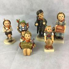 6) Vintage Hummel Goebel Lot of 6 Figurines. Tmk 5 & Tmk 6