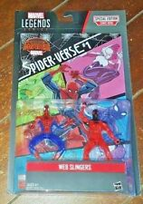 NIP Marvel Legends Series Web Slingers: SPIDER-MAN & SCARLET SPIDER Figures!