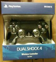 Sony PlayStation 4 PS4 Dualshock 4 Wireless Controller Jet Black