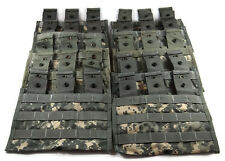 Lot of 100 Triple Mag Pouches ACU - Molle II 3 Magazine Shingle Pouch - US Army
