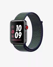 APPLE Watch Nike+ Series 3 GPS+Cellular 42 mm Midnight Fog