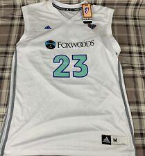 WNBA New York Liberty White  Basketball Jersey Cappie Pondexter 23 Size Medium