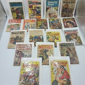 Vintage Western Pulp Magazine Novel Lot   Billy the Kid, Masked Rider, and More!