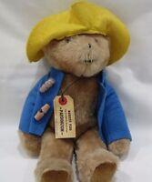 """1975 Vintage Paddington Bear Darkest Peru To London England 13"""" Plush Eden Toys"""