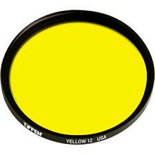 Tiffen 52mm Yellow #12 Filter **AUTHORIZED TIFFEN USA DEALER**