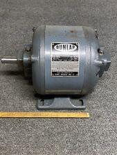 Vintage Sears Dunlap 1/3 HP Split Phase Electric Motor 115 v 62a 1750 rpm