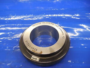 70.168 CLASS XX MASTER PLAIN BORE RING GAGE 70.000 +.168 OVERSIZE 70 mm 2.7625
