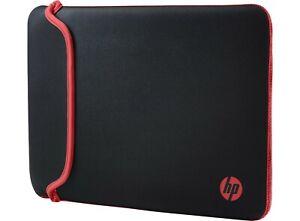 "HP Chroma Sleeve - Black/Red - 35,56 cm 14"" - V5C26AA#ABB"