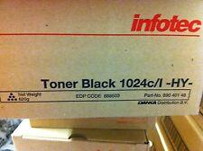 ORIGINALE INFOTEC 888503 TONER NERO PER 1024 C L-HY 89040148 a-Ware